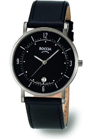 Boccia Boccia Herren-Armbanduhr Mit Lederarmband Trend 3533-01