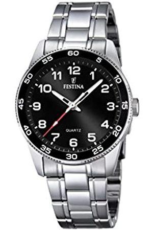 Festina Festina Unisex Analog Quarz Uhr mit Edelstahl Armband F16905/4