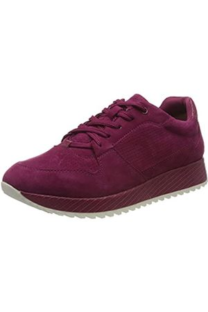 Tamaris Tamaris Damen 1-1-23731-24 Leder Sneaker, Rot (Cranberry 631)