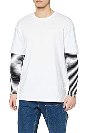 Urban classics Urban Classics Herren Longsleeve Oversized Double Layer Striped LS Tee T-Shirt