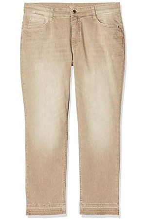 Mac MAC Jeans Damen Melanie Pipe Fringe Glam Straight Jeans