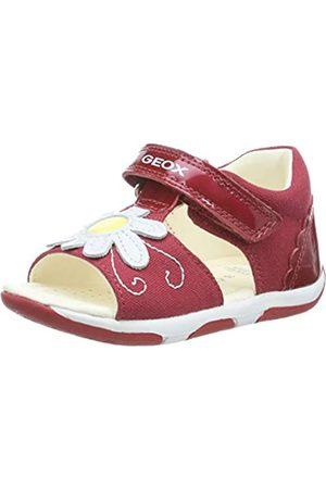 Geox Geox Baby Mädchen TAPUZ Girl B Sandalen, Rot (Red/White C0003)