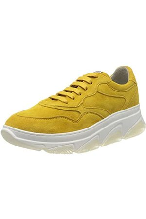 Tamaris Tamaris Damen 1-1-23772-24 Leder Sneaker, Gelb (Sun 602)