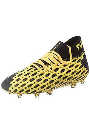 Puma Puma Unisex-Kinder Future 5.1 Netfit Fg/ag Jr Botas de fútbol, Gelb (Ultra Yellow Black)