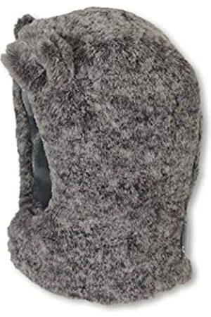 Sterntaler Sterntaler Schalmütze für Jungen aus Fellimitat mit abstehenden Bären-Öhrchen, Alter: 3-4 Monate, Größe: 39