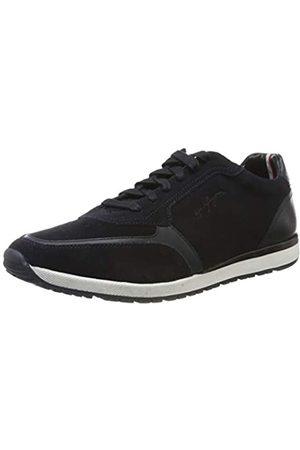 Tommy Hilfiger Tommy Hilfiger Herren Premium Suede Runner FM0 Sneaker, Blau (Navy Fm0fm02551-Cki)