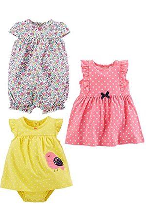 Simple Joys by Carter's Simple Joys by Carter's 3-pack Romper, Sunsuit and Dress Spieler 6-9 Months