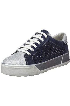 Stonefly Stonefly Damen Stella 3 Bis Glitter/Velour Sneaker, Blau (Indigo Blue 11B)