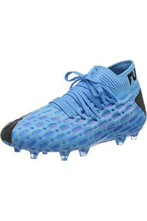 Puma Puma Unisex-Kinder Future 5.1 Netfit Fg/ag Jr Botas de fútbol, Blau (Luminous Blue-NRGY Blue Black-Pink Alert)
