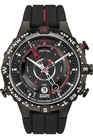 Timex Timex Herren-Armbanduhr Analog Quarz Silikon T2N720