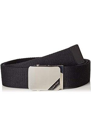 Calvin Klein Calvin Klein Herren 4CM ADJ. Webbing Plaque Belt Gürtel