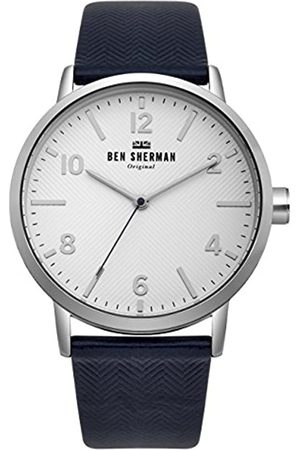 Ben Sherman Ben Sherman Herren Datum klassisch Quarz Uhr mit Nylon Armband WB070UB