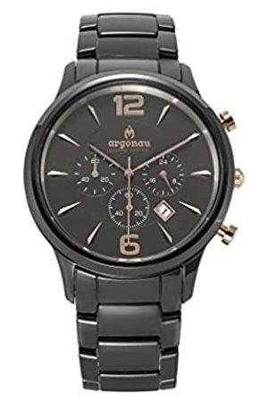 ARGONAU Argonau Unisex Erwachsene Analog Quarz Uhr mit Keramik Armband AU1000
