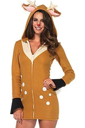 Leg Avenue LEG AVENUE 85587 Cozy Fawn, Damen Karneval Kostüm Fasching, S
