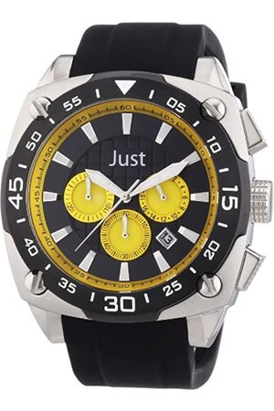 Just Watches Just Watches Herren-Armbanduhr XL Analog Quarz Kautschuk 48-STG2373-YL