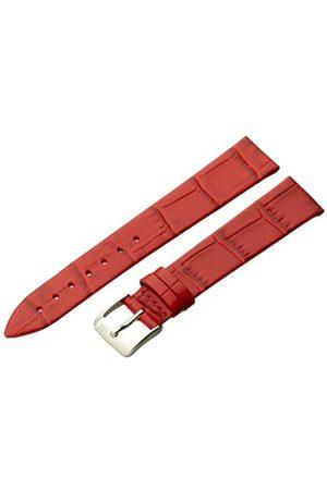 Morellato Morellato Lederarmband für Unisexuhr THIN Red 16 mm A01D2860656083CR16