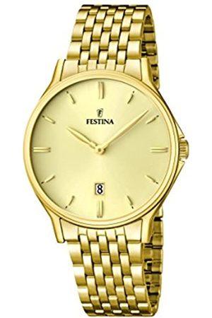 Festina Festina Herren Analog Quarz Uhr mit Edelstahl Armband F16746/2