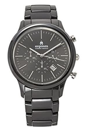 ARGONAU Argonau Unisex Erwachsene Analog Quarz Uhr mit Keramik Armband AU1022