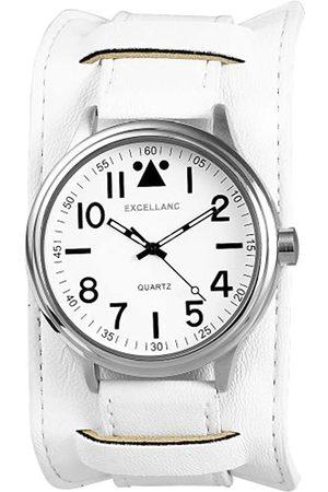 Excellanc Excellanc Herren-Uhren mit Polyurethan Lederband 295022000062