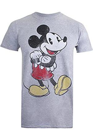 Disney Herren Vintage Mickey T-Shirt