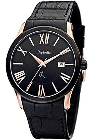 ORPHELIA Orphelia Herren-Armbanduhr Mystery Analog Quarz Leder OR32671044