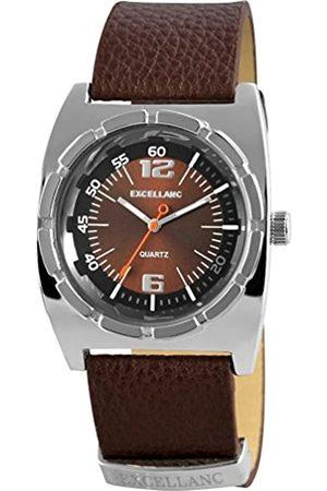 Excellanc Excellanc Herren-Armbanduhr Analog Quarz Leder 295027000095