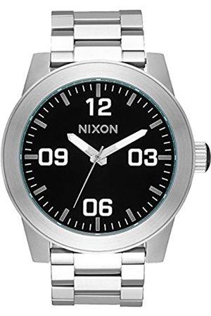 Nixon Nixon Herren Analog Quarz Smart Watch Armbanduhr mit Edelstahl Armband A346-000-00