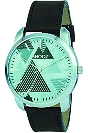 Snooz Snooz Herren Analog Quarz Uhr mit Leder Armband Saa0044-67