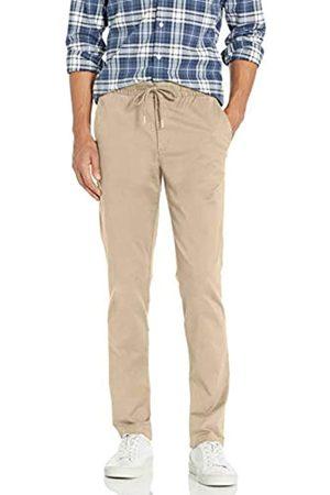 Goodthreads Goodthreads Slim-fit Washed Chino Drawstring Pant Unterhose, ((Khaki)