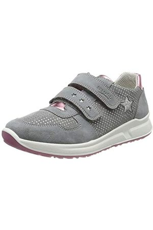 Superfit Superfit Mädchen Merida Sneaker, Grau (Smoke Kombi 44)