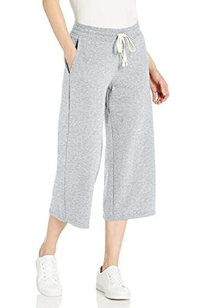 Amazon Amazon Essentials French Terry Fleece Wide-Leg Crop Sweatpant Athletic-Pants