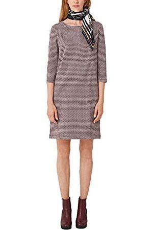 s.Oliver S.Oliver RED LABEL Damen Kleid aus Interlock-Jersey blue glen check 44