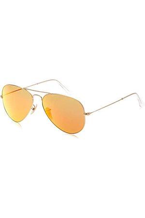 Ray-Ban Ray Ban Unisex Sonnenbrille ORB3025JM Gr. Large (Herstellergröße: 58), Mehrfarbig (Gestell: gold/bunt ,Gläser: braun Klassisch 169)