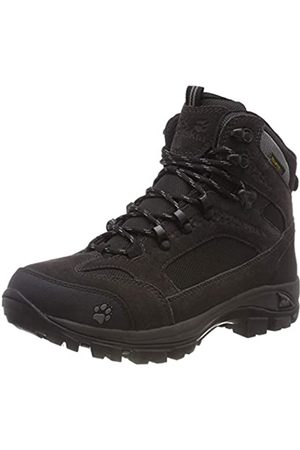 Jack Wolfskin Damen All Terrain 8 Texapore Mid W, Wanderschuhe Outdoor, Schwarz (Shadow Black 6101)