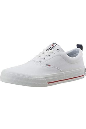 Tommy Hilfiger Tommy Jeans Herren Classic Low Sneaker, Weiß (White Ybs)