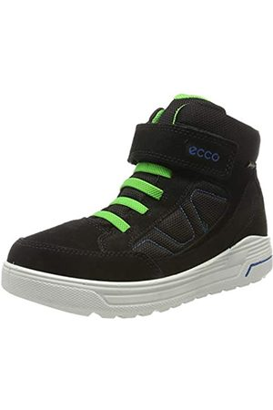 Ecco Jungen URBAN Snowboarder Hohe Sneaker, (Black/Black/Clover 51626)