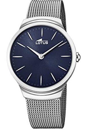 Lotus Lotus Watches Herren Datum klassisch Quarz Uhr mit Edelstahl Armband 18493/2