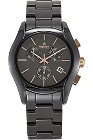 ARGONAU Argonau Unisex Erwachsene Analog Quarz Uhr mit Keramik Armband AU1401