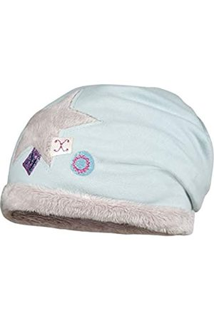 maximo Mädchen Beanie aus Jersey mit Plüschstern Mütze
