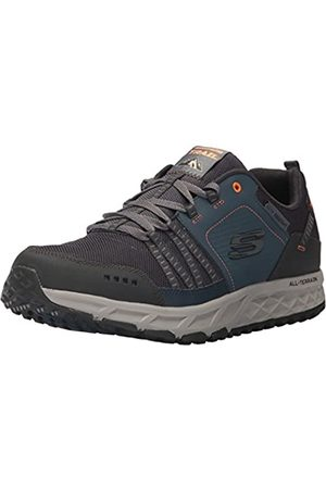 Skechers Skechers Herren Escape Plan 51591 Sneaker, Blau (Navy/orange)
