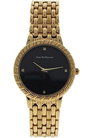 Jean Bellecour Jean Bellecour Unisex Analog Quarz Uhr mit Edelstahl Armband REDS20-GB