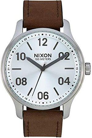 Nixon NixonUnisexErwachseneAnalogQuarzUhrmitLederArmbandA1243-1113-00