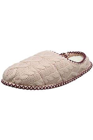 Dearfoams Dearfoams Damen Qilted Cable Knit Clog Pantoffeln, Pink (Dusty Pink 10663)