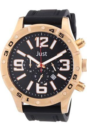 Just Watches Just Watches Herren-Armbanduhr XL Analog Quarz Kautschuk 48-S3978-RG