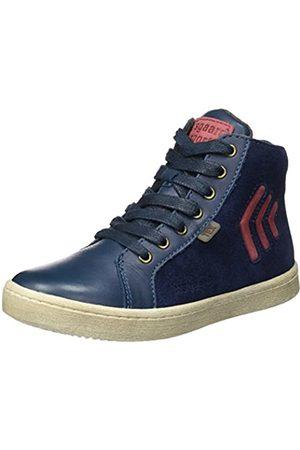Bisgaard Bisgaard Unisex-Kinder Schnürschuhe Hohe Sneaker, Blau (625 Blue)