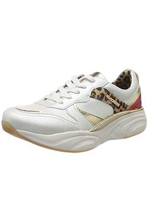 Dockers Damen 46CV202-680509 Sneaker, (Weiss/Multi 509)