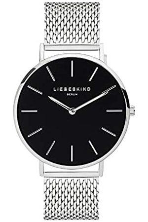 liebeskind LIEBESKIND BERLIN Unisex Erwachsene Analog Quarz Uhr mit Edelstahl Armband LT-0154-MQ