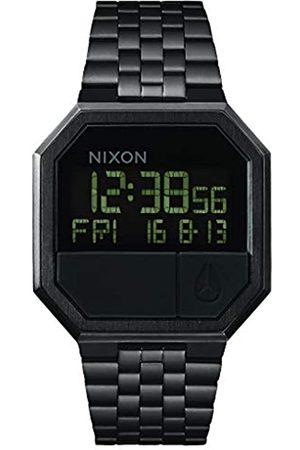 Nixon Nixon Unisex Digital Quarz Uhr mit Edelstahl Armband A158001-00