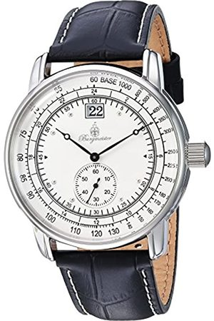 Burgmeister Burgmeister Herren Analog Quarz Uhr mit Leder Armband BM333-182