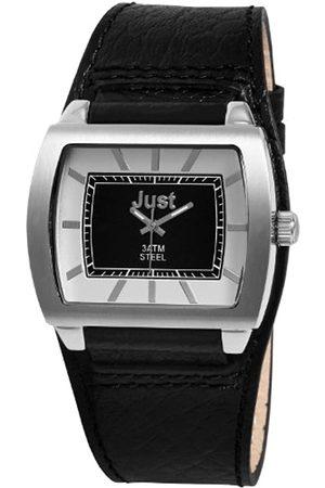 Just Watches Just Watches Herren-Armbanduhr XL Analog Leder 48-S5228A-SL